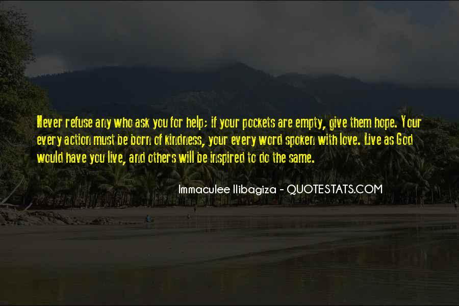 Immaculee Ilibagiza Quotes #515169