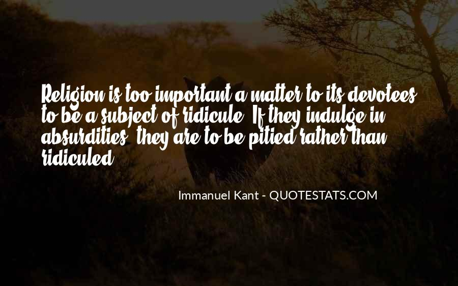 Immanuel Kant Quotes #1300255