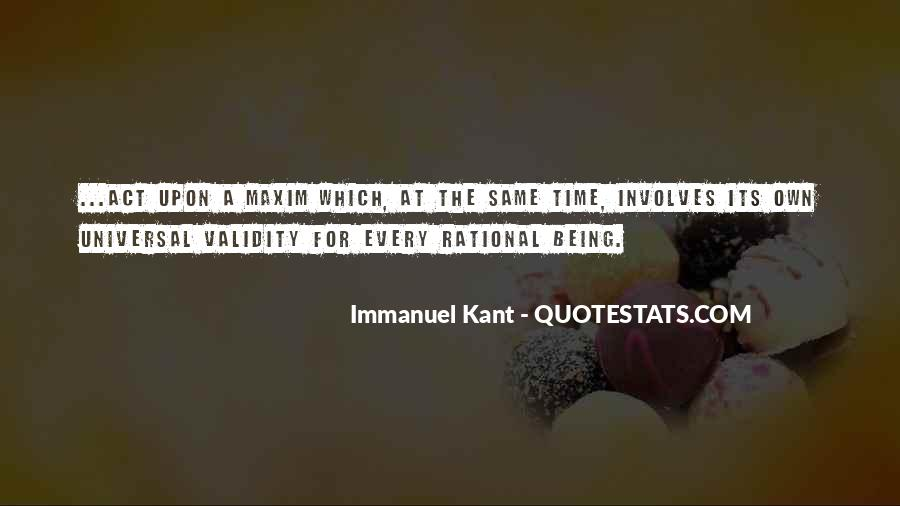 Immanuel Kant Quotes #1639797