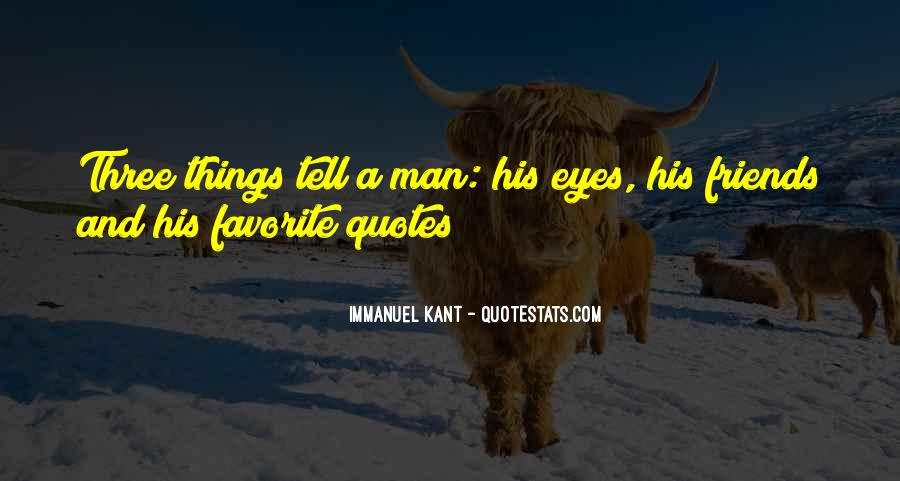 Immanuel Kant Quotes #267372