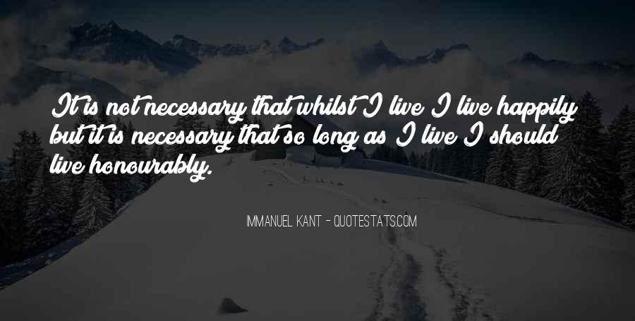 Immanuel Kant Quotes #270753