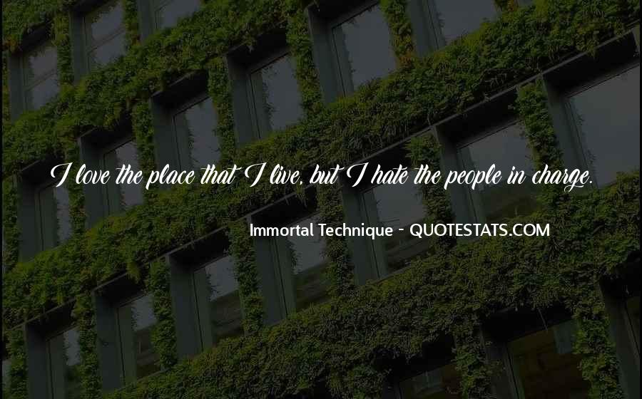 Immortal Technique Quotes #436733