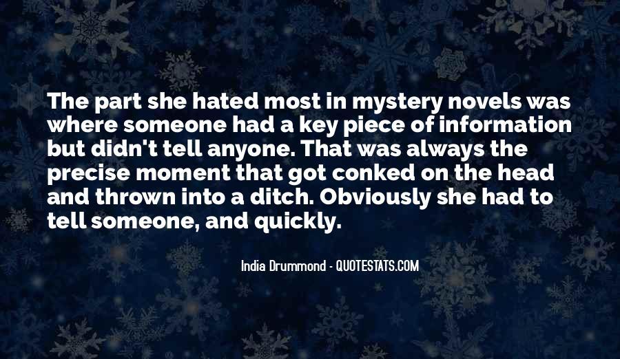 India Drummond Quotes #1547630