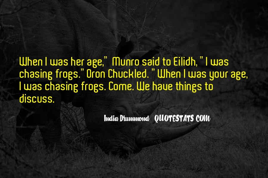 India Drummond Quotes #1679795