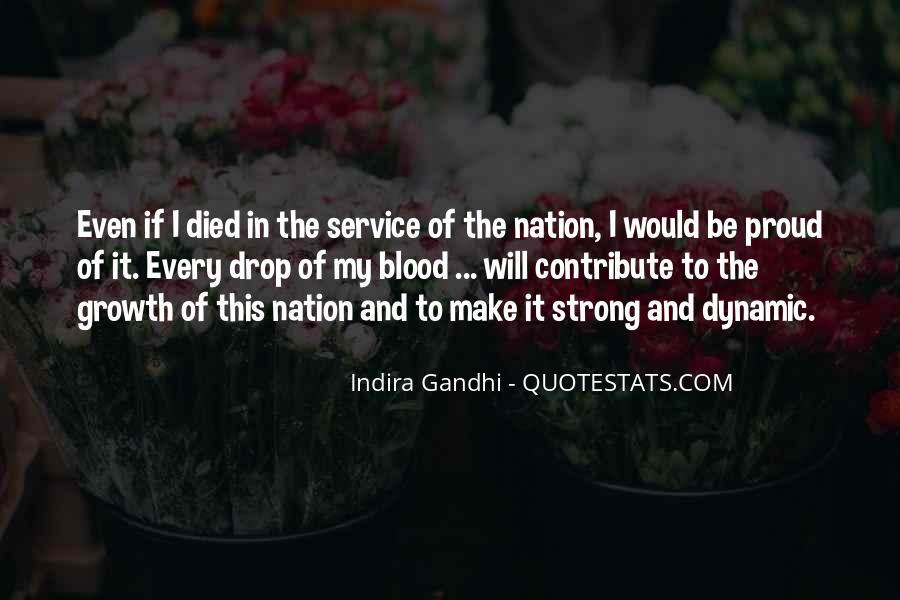 Indira Gandhi Quotes #1236427
