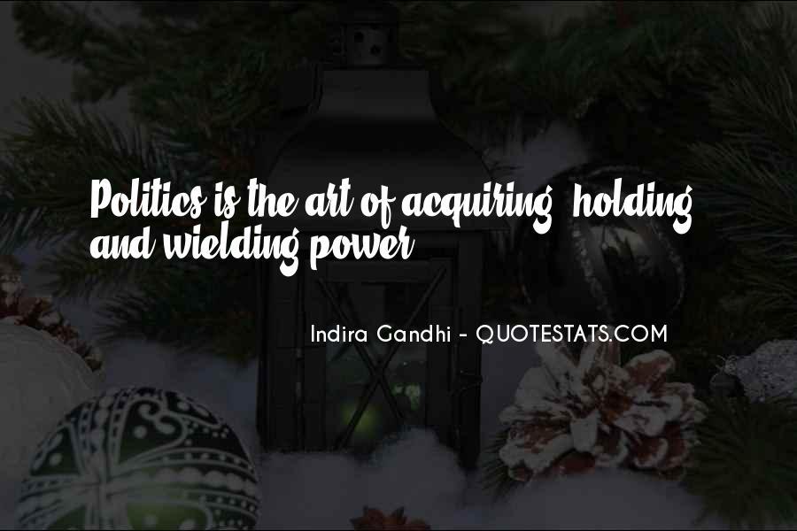 Indira Gandhi Quotes #159917