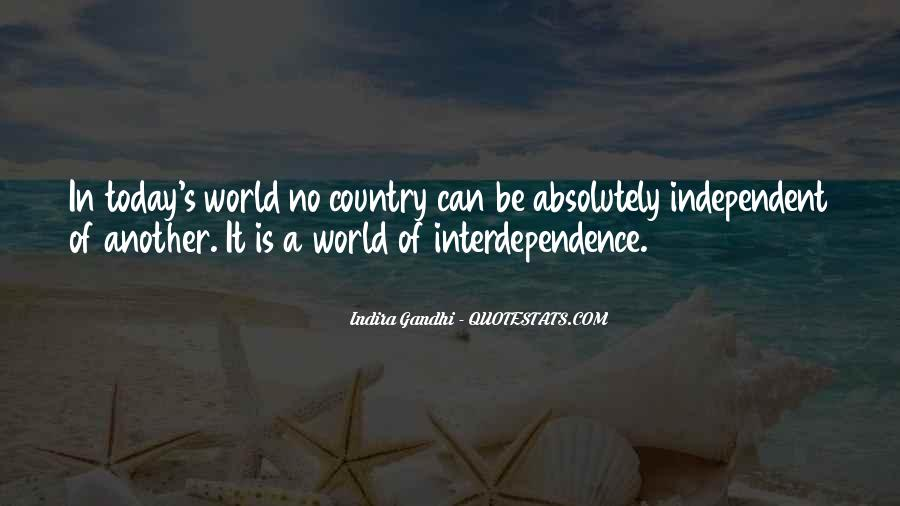 Indira Gandhi Quotes #1767991