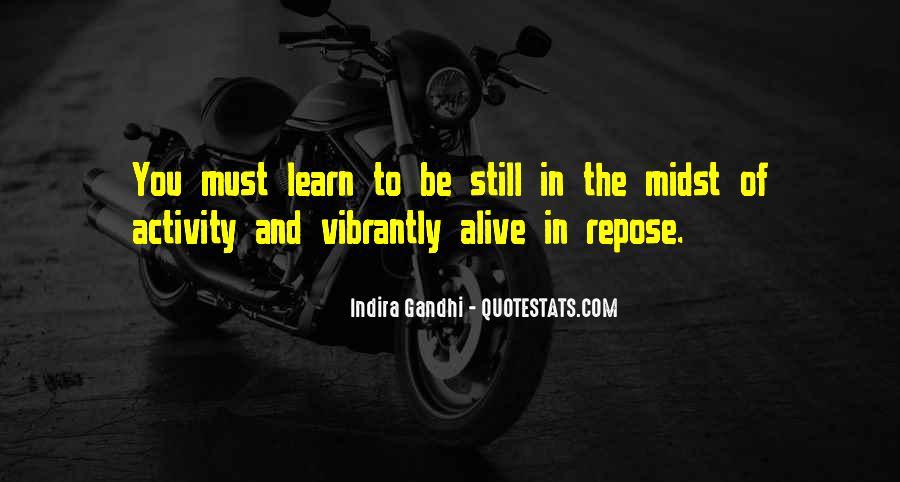 Indira Gandhi Quotes #1861740