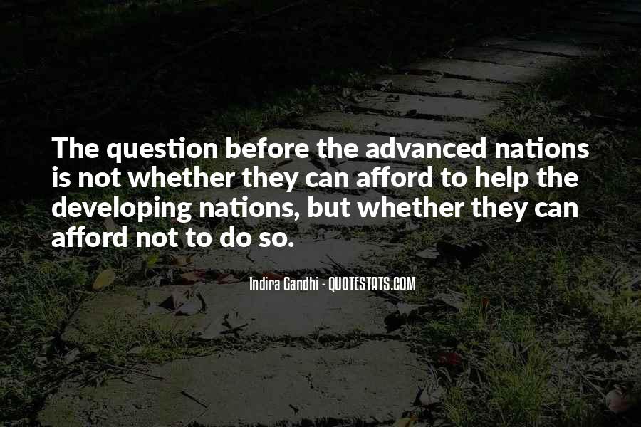 Indira Gandhi Quotes #223061
