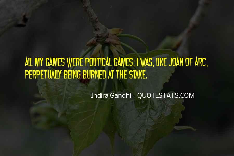 Indira Gandhi Quotes #748300
