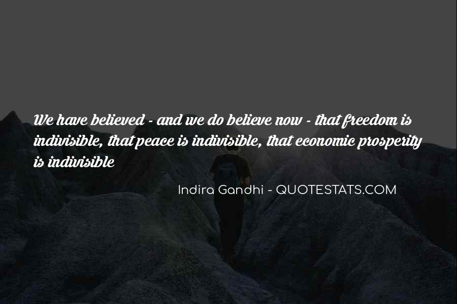 Indira Gandhi Quotes #943215