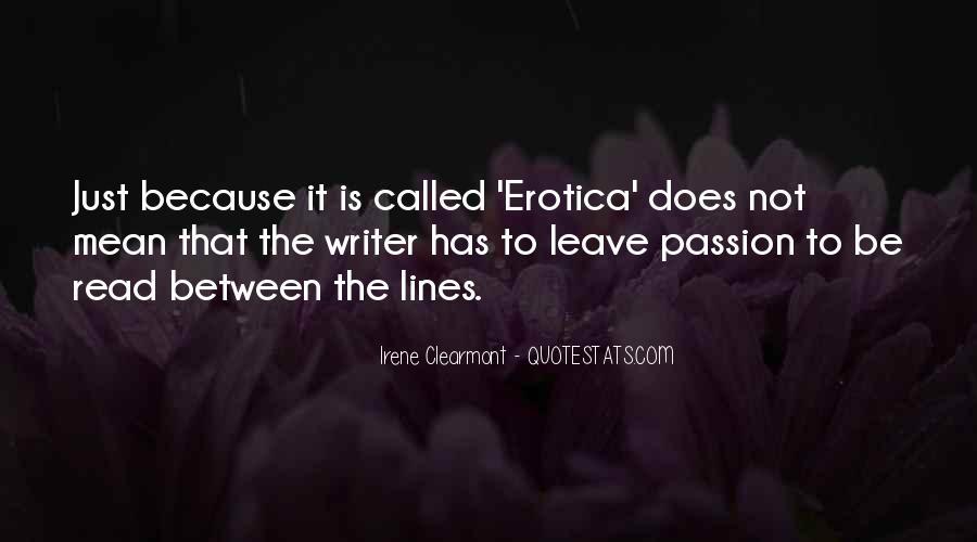 Irene Clearmont Quotes #1347044