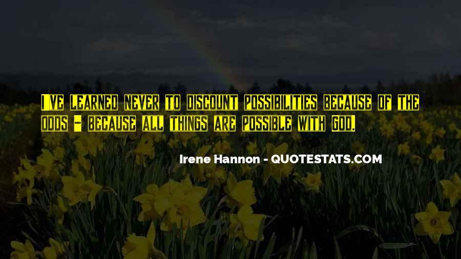 Irene Hannon Quotes #1278278