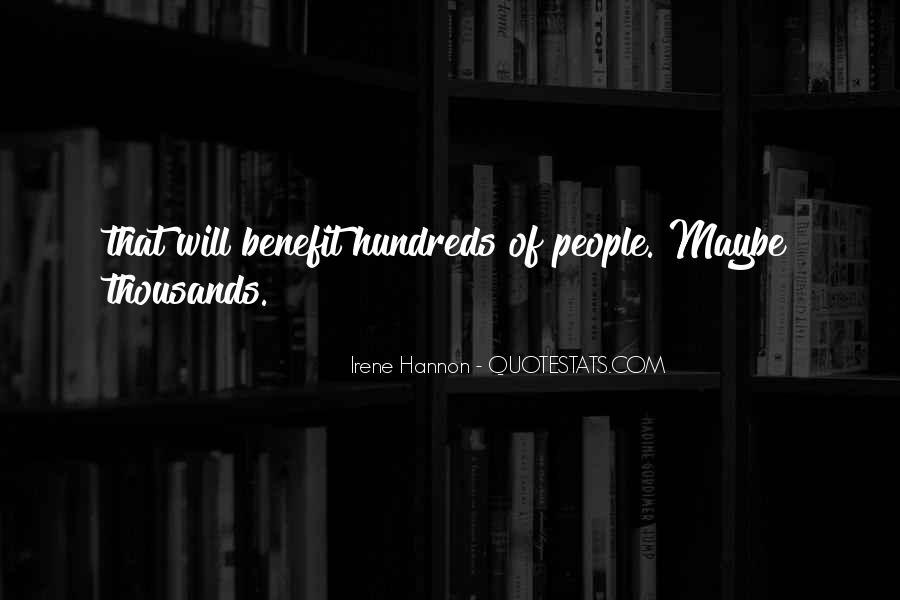 Irene Hannon Quotes #785511
