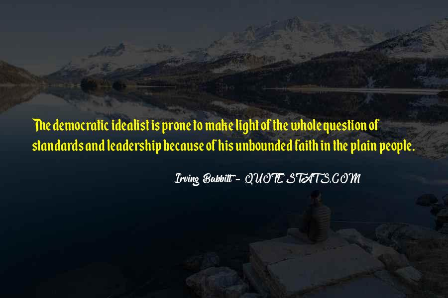 Irving Babbitt Quotes #1050994