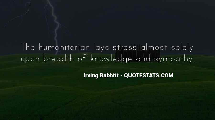 Irving Babbitt Quotes #1065955