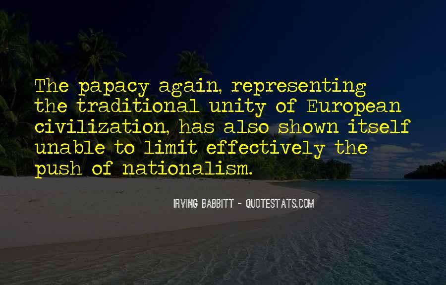 Irving Babbitt Quotes #1376970