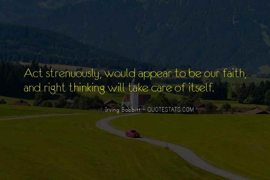 Irving Babbitt Quotes #625126