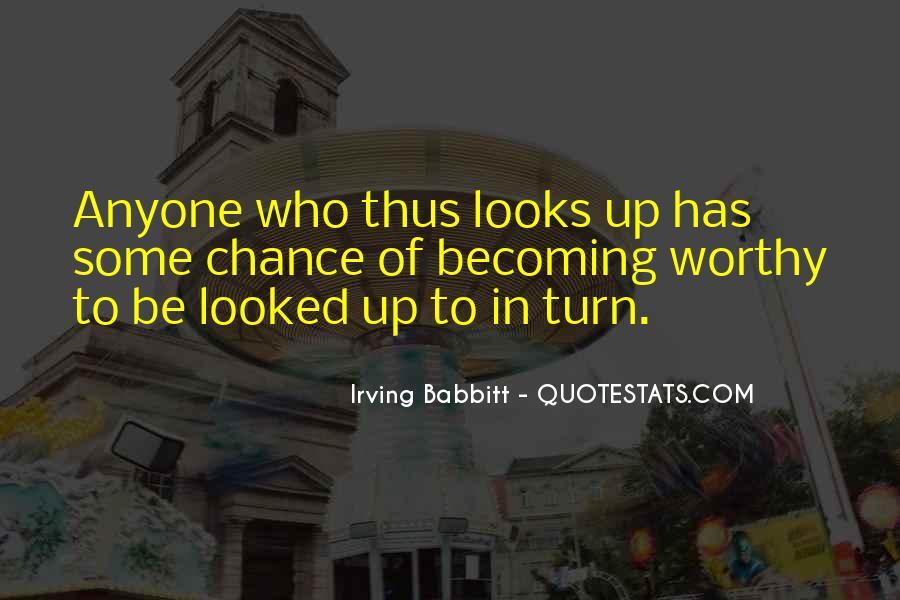 Irving Babbitt Quotes #886354