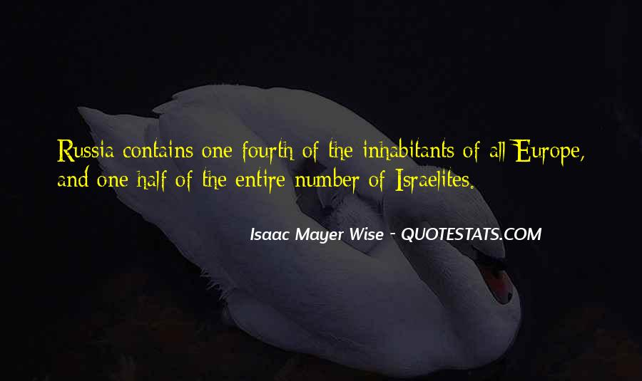 Isaac Mayer Wise Quotes #311005