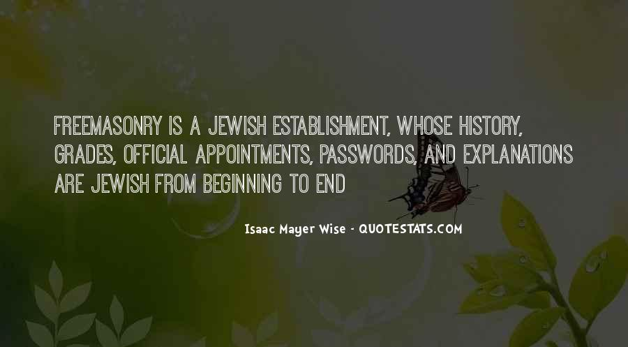 Isaac Mayer Wise Quotes #366634