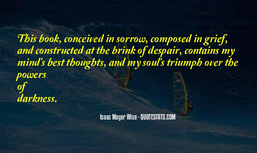 Isaac Mayer Wise Quotes #542047