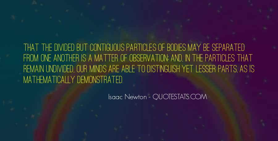 Isaac Newton Quotes #150851