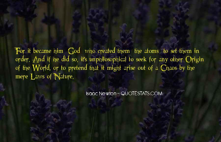 Isaac Newton Quotes #1594913