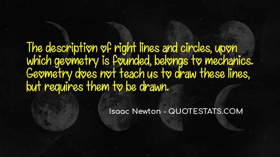 Isaac Newton Quotes #1665845