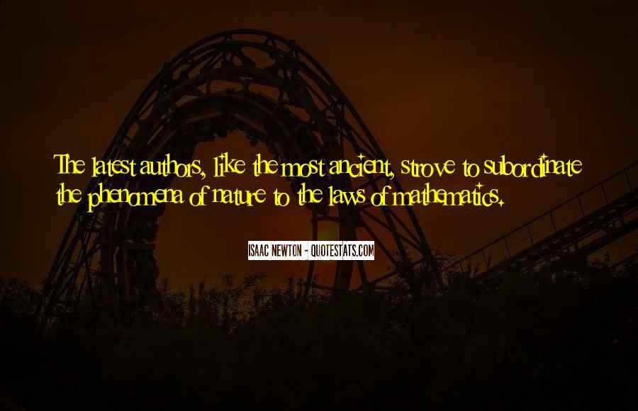 Isaac Newton Quotes #833059