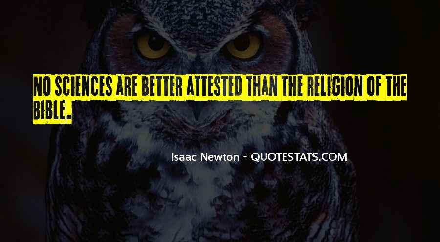 Isaac Newton Quotes #91057