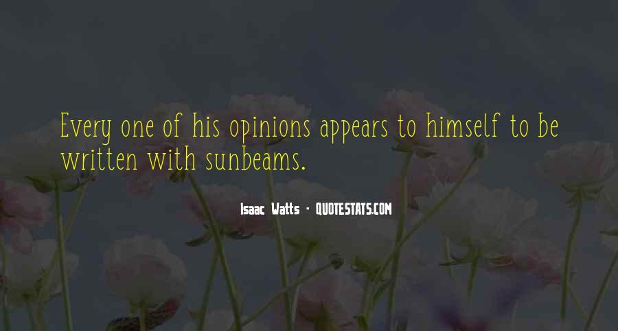 Isaac Watts Quotes #1000110