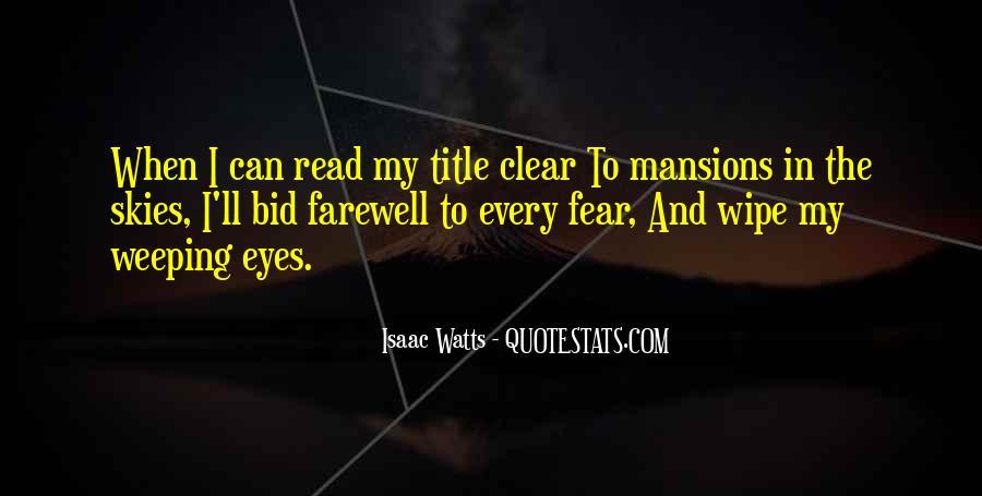 Isaac Watts Quotes #1147648