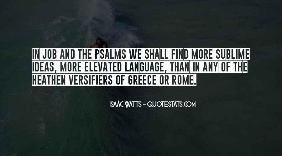 Isaac Watts Quotes #1622645