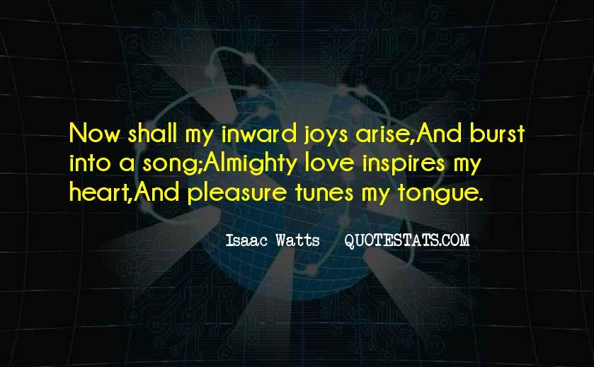 Isaac Watts Quotes #296734