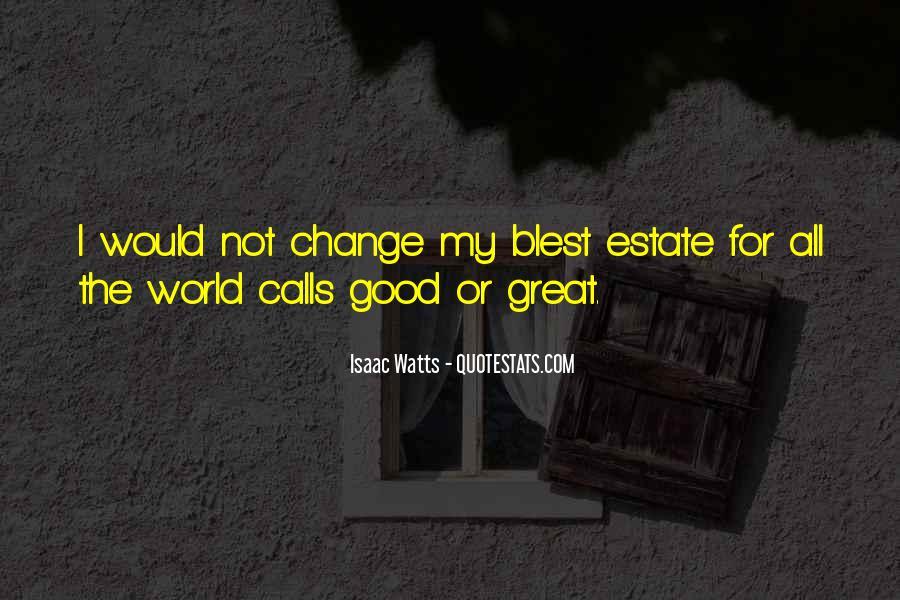 Isaac Watts Quotes #53194
