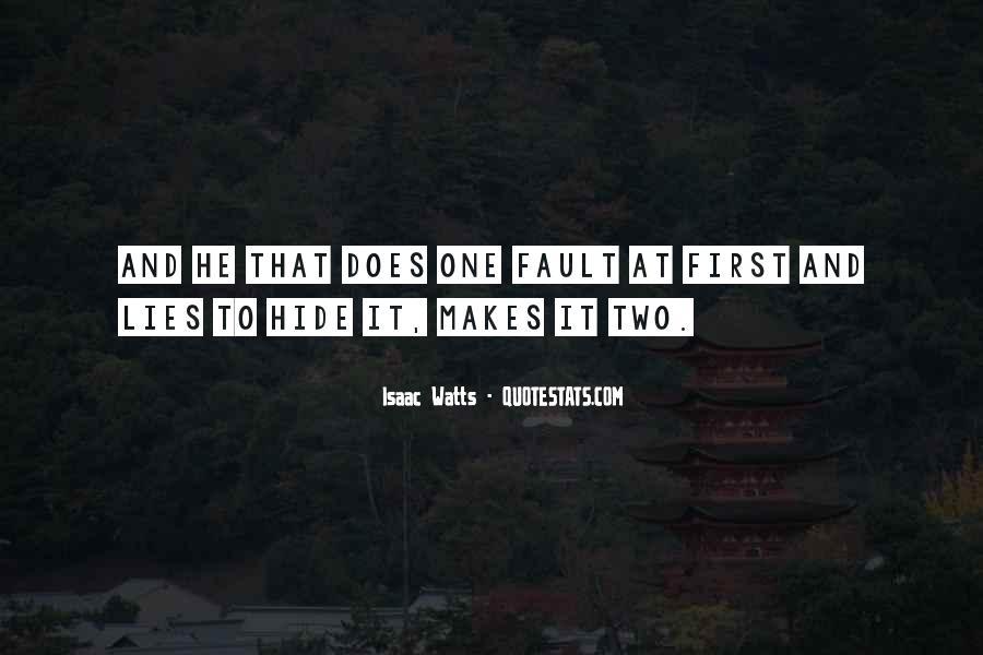 Isaac Watts Quotes #99509