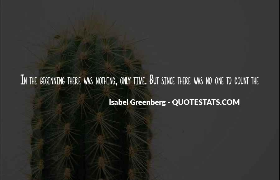 Isabel Greenberg Quotes #1424112