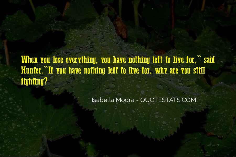 Isabella Modra Quotes #49310