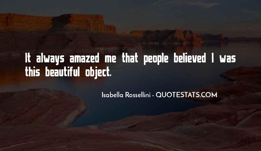 Isabella Rossellini Quotes #116001