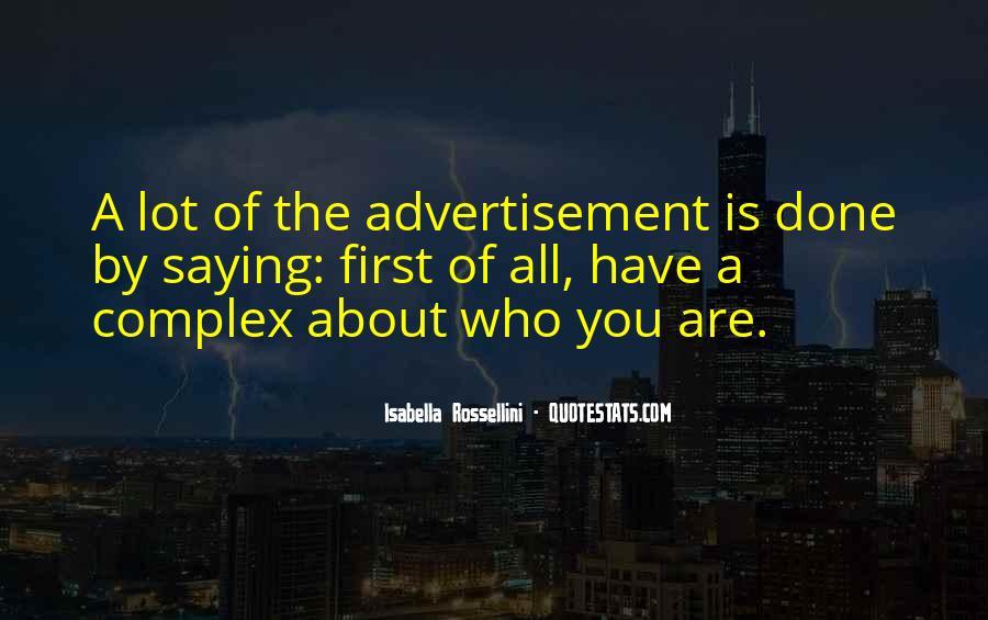 Isabella Rossellini Quotes #1818320