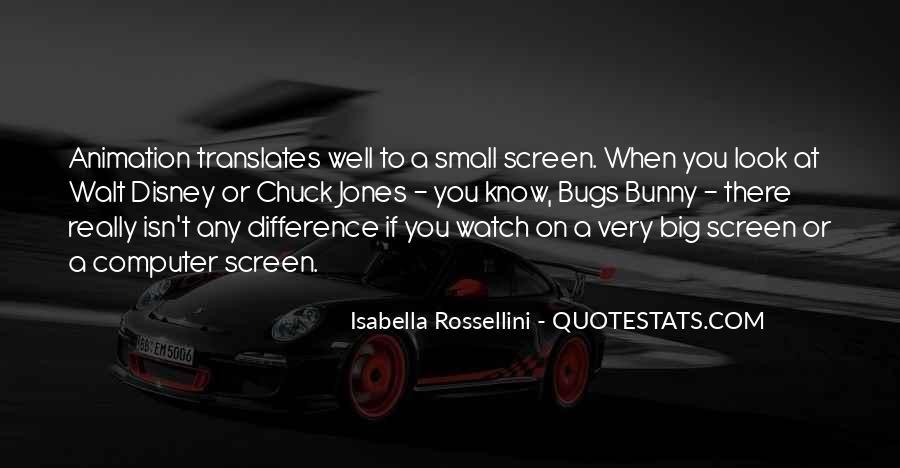 Isabella Rossellini Quotes #1821673