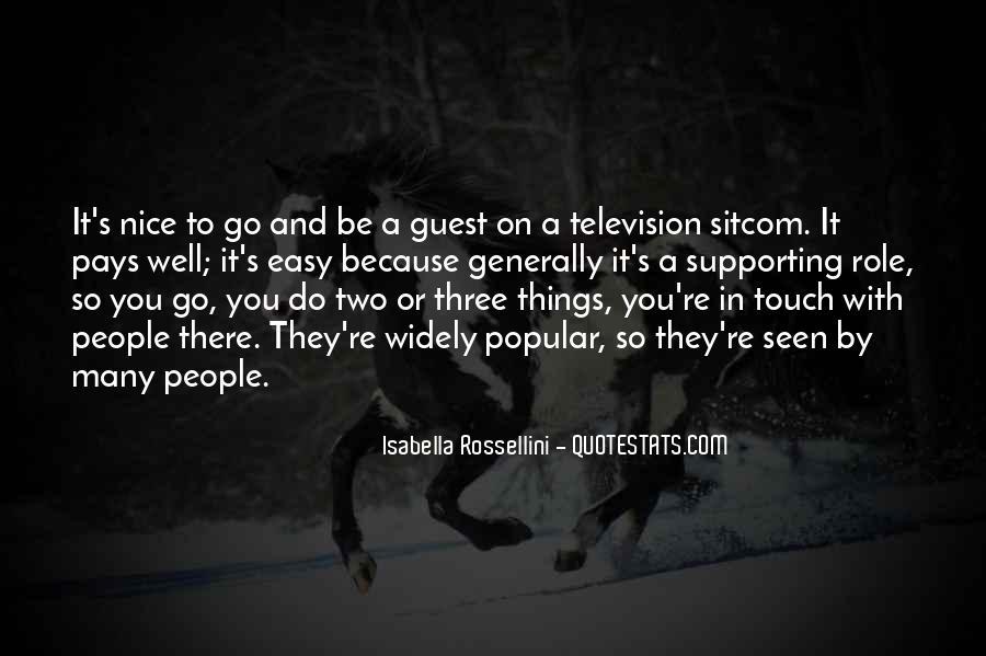 Isabella Rossellini Quotes #235215