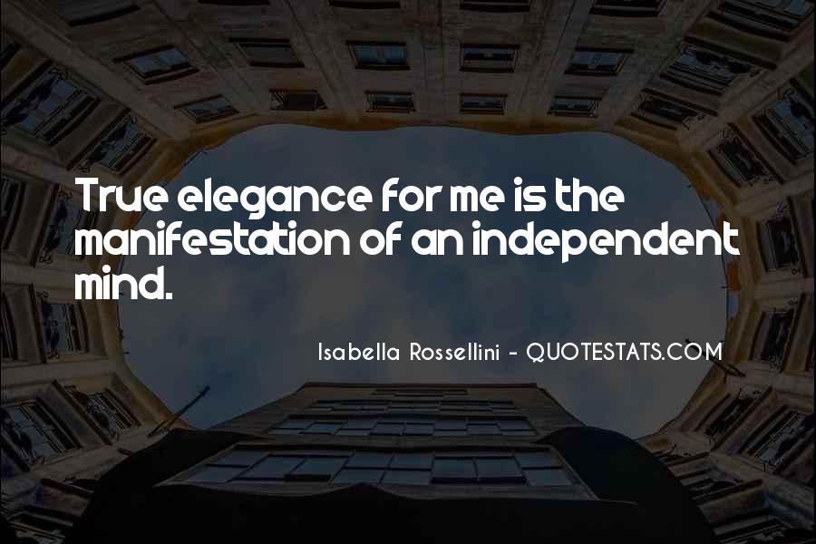 Isabella Rossellini Quotes #518281