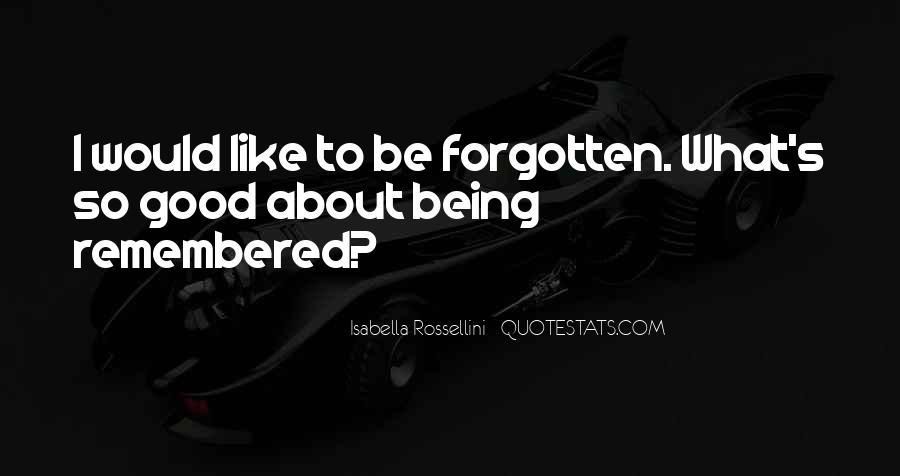 Isabella Rossellini Quotes #587455