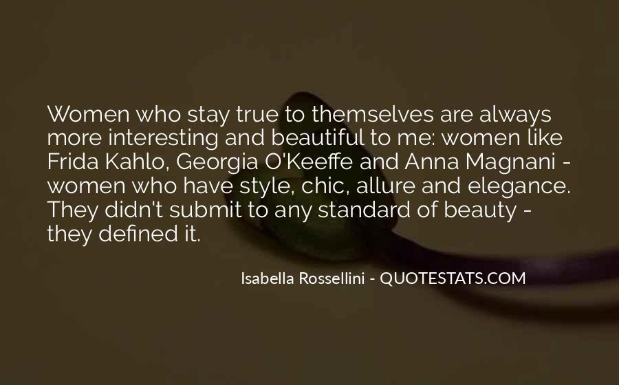 Isabella Rossellini Quotes #66503