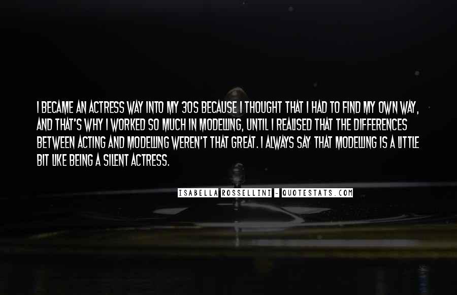 Isabella Rossellini Quotes #698239