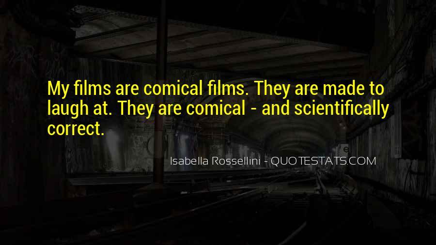Isabella Rossellini Quotes #756164