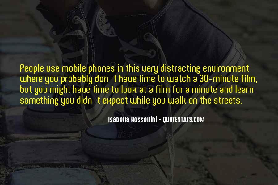 Isabella Rossellini Quotes #859242