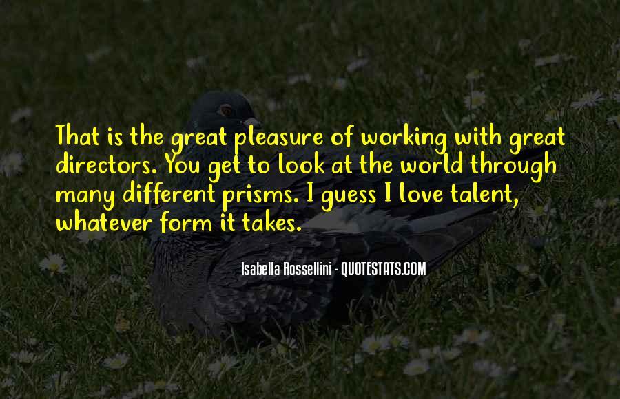 Isabella Rossellini Quotes #965704